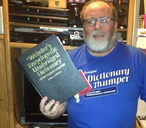 Trying to hold the dictionary
