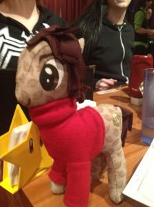 A rag doll pony version of Carl Sagan.