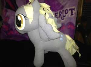Another Derpy Hooves doll, with squeaker!