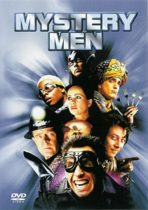 Cover image of the DVD of the movie Mystery Men