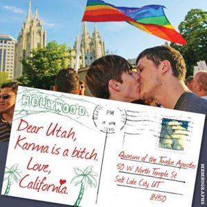 Marriage equality comes to Utah.