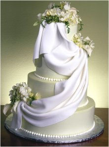 Another fancy multi-layer wedding cake.