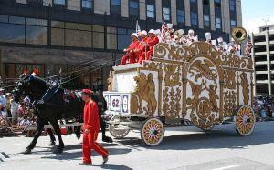 http://en.wikipedia.org/wiki/File:Circus-Parade_white-bandwagon_Jul09.jpg