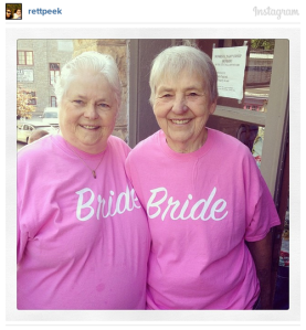 How can you look at this two, knowing the decades they have built a home together in one of the most homophobic states in the country, and say they can't have the legal protections that come with civil marriage?