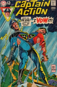 There was even a Captain Action comic book. I owned a copy of this, and it was still part of my collection years after my action figure had fallen apart.