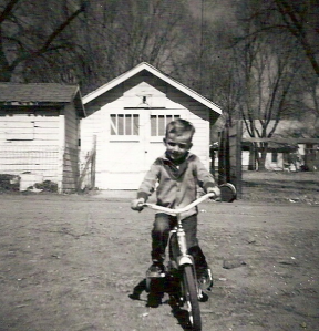 This picture was taken when I was four.