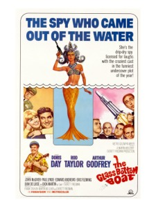 This movie had it all: a spy plot, romance, a NASA research facility near the beach, gags involving sea mammals, other gags involving fishing lines snagging clothes at inopportune times...