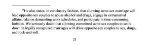 From the unanimous ruling of the 9th Circuit Court of Appeals declaring same-sex marriage bans in Nevada and Idaho unconstitutional.