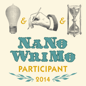 I'm doing NaNoWriMo again!