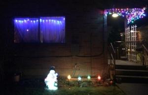 This taoist and his pagan husband blatantly display a mix of pagan and folk symbols during the sacred Christmas season.