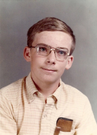 My 8th grade official picture.