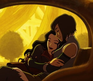 Bryan Konietzko's image for an LGBTQ suicide prevention fundraiser. He shared this excerpt on his blog and twitter before the auction.