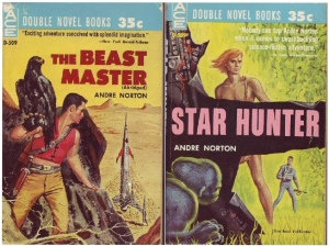 Double-book of The Beast Master and Star Hunter (Click to embiggen)
