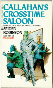 The cover of my very own copy of Callahan's Crosstime Saloon. (Click to embiggen)