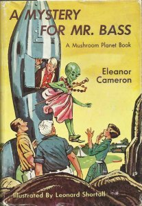 "The cover of the 1960 hardcover edition of ""A Mystery for Mr. Bass"""