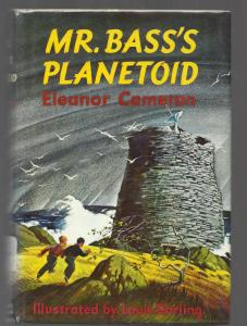 Cover of the 1958 hardcover edition of Mr. Bass's Planetoid by  Eleanor Cameron,.