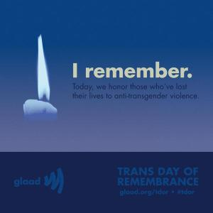 International Transgender Day of Remembrance http://tdor.info/  (Click to embiggen)