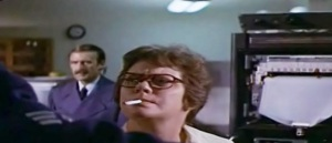 Kate Reid playing clinical microbiologist, Dr. Ruth Leavitt in the Andromeda Strain © Universal Pictures