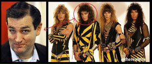 "Just as the ""Is Ted Cruz the Zodiac Killer"" meme died down, others suggested that he was once the lead singer of Christian Heavy Metal Band, Stryper."