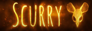 The logo for Scurry, a web comic by Mac Smith