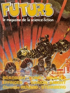 The cover of Futurs No 3, an anthology of translated science fiction published in Paris, September, 1978.