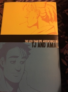 My copy of the paper book collecting the entirety of TJ & Amal's adventure that is, despite the title, quite epic!