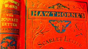 Nathaniel Hawthorne wrote The Scarlet Letter in 1850.