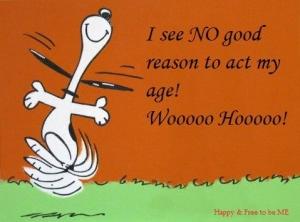 I see NO good reason to act my ag