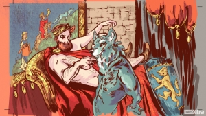 One of Marie de France's 12th century stories involves a king getting laid by a man-beast named Bisclavret. © Alexander Barattin/Daily Xtra
