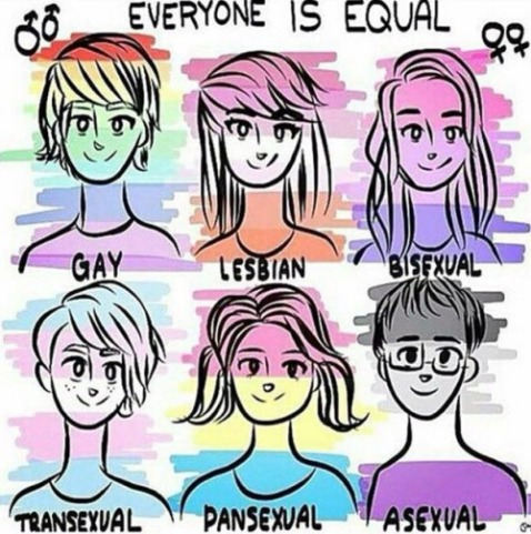"""Everyone is equal."