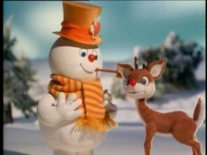 "After mining every other obscure character for a Christmas special, of course Rankin and Bass would try to milk some more by having Frosty and Rudolph team-up in 1979. But who thought ""Christmas in July"" was a great title?"