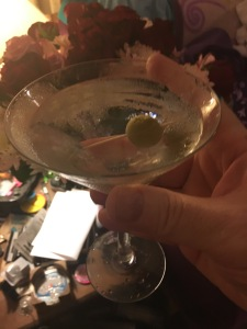 The martini I made according to the ANSI standard.