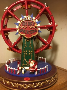 Picture of my tacky christmas ferris wheel decoration