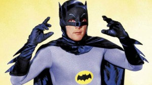 Adam West as Batman from the TV series © Greenway Productions and 20th Century Fox Television