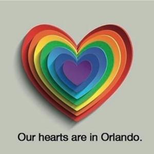 """Our hearts are in Orlando."""
