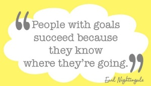 """People with goals succeed because they know where they're going."""