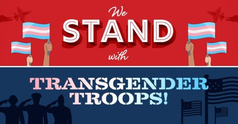 Stand with our Transgender Troops!