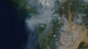 NASA satellite photo showing smoke clouds covering my home...