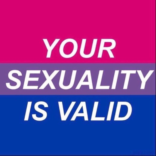 """""""Your sexuality is valid."""""""