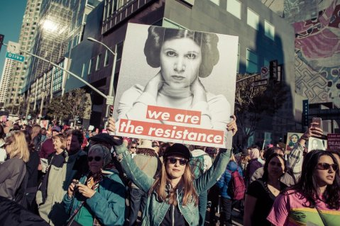 """We are the Resistance"""