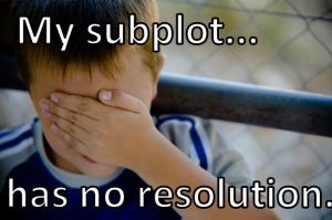 """My subplot... has no resolution"""