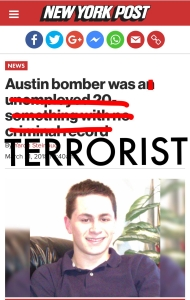 """Austin bomber was a TERRORIST"""