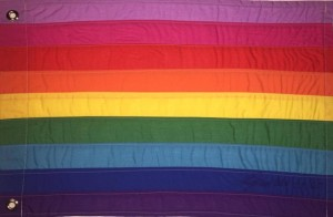 Shortly before his death, Gilbert Baker redesigned the rainbow flag yet again...