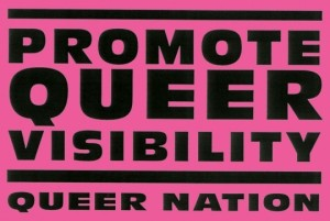"""Promote Queer Visibility"""