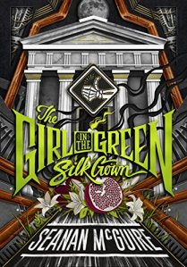 Cover art for The Girl in the Green Silk Gown.