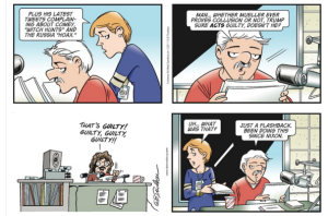 Doonesbury, © 22 October 2017 Garry Trudeau: The Flashback Edition.