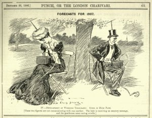 Wireless communications as predicted 113 years ago! (click to embiggen)