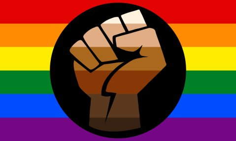 We're all part of the queer resistance. More colors more pride.