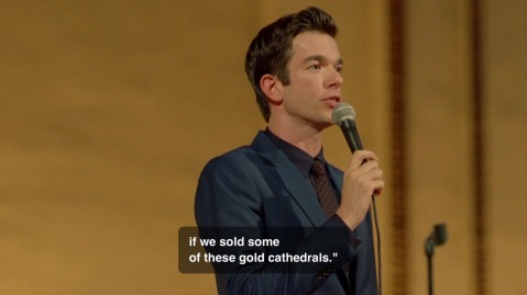"""...if we sold some of these gold cathedrals."""