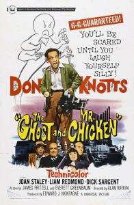 Movie poster for The Ghost and Mr Chicken.
